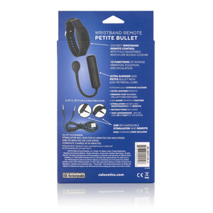 Wristband Remote Petite Bullet - Couples Playthings