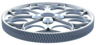 04094 HERRING BONE MAIN GEAR 153 TEETH M07