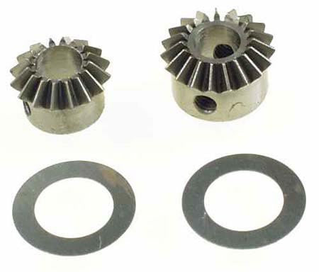 0547 Tail Speed Up Gears 16t & 19t - Set