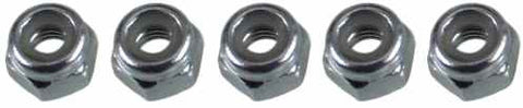 0021 4mm Lock Nut - Pack of 5