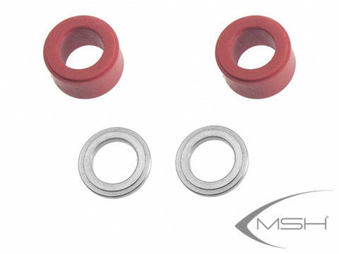 MSH71057 Head dampeners 3D (red)