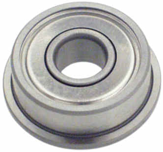 115-11 m5 x 15 x 5 Flanged Ball Bearing - Pack of 1