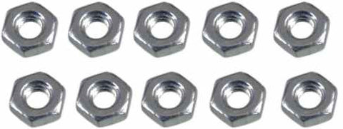 0017 3mm Hex Nut - Pack of 10