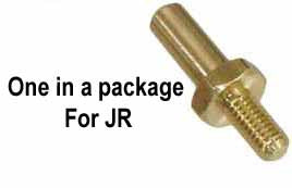 115-74 m3.0 Brass Threaded Servo Stud - Pack of 1
