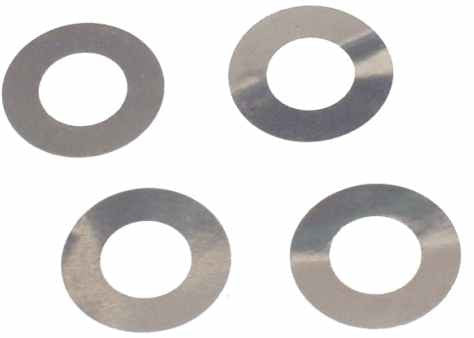 "0446-3 m4.3 x 7.9 x .001"" Shim Washer - Pack of 4"
