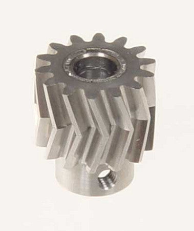 05011 PINION FOR HERRINGBONE GEAR 14 TEETH 25°, M1, DIA.6MM