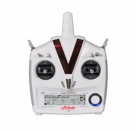04982 MIKADO VBAR CONTROL RADIO WITH RX-SATELLITE, WHITE