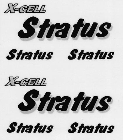 126-75 Stratus Decal Logo Sheet