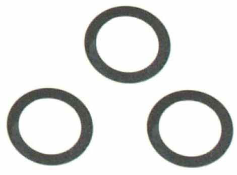 0866-10 m14 x 20 x 0.2 S/S Shim Washer - Pack of 3