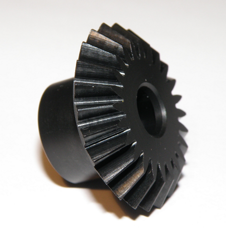 131-18-B Whiplash CNC machined POM Tail Bevel Gear TT Side - Pack of 1
