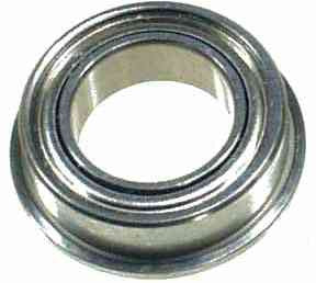 0283 m6 x 10 x 3 Flanged Ball Bearing - Pack of 1