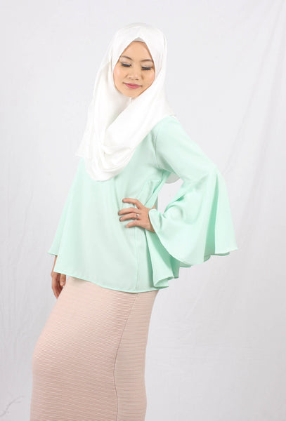 Sheryna Bell Top - Mint - Aly Ary - 1