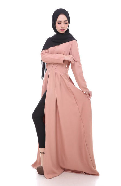 Aubrey Maxi Dress - Nude Peach