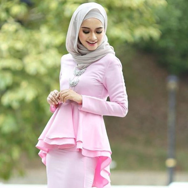 Peplum Set - Pink Diamond - Aly Ary - 1