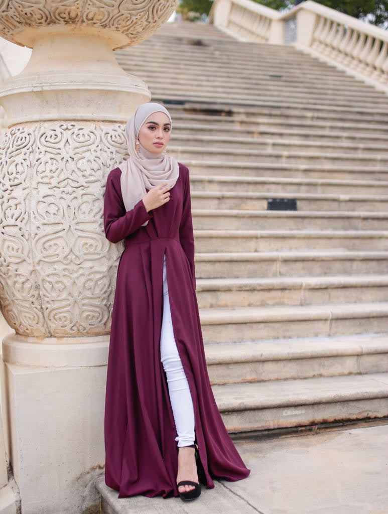 Aubrey Maxi Dress - Plum