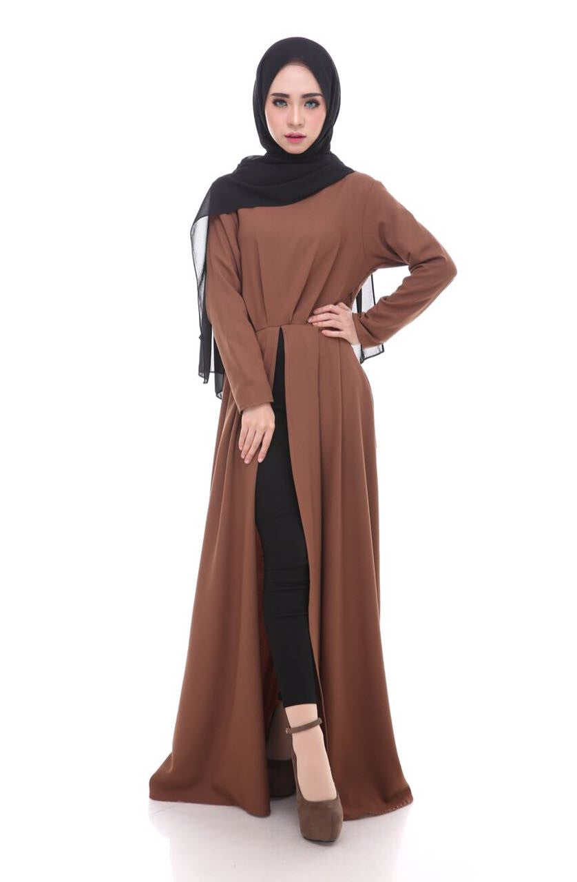 Aubrey Maxi Dress - Chocolate