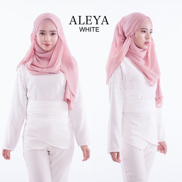 Aleya Top in White - Aly Ary