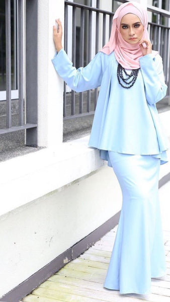 Flare Set in Baby Blue - Aly Ary