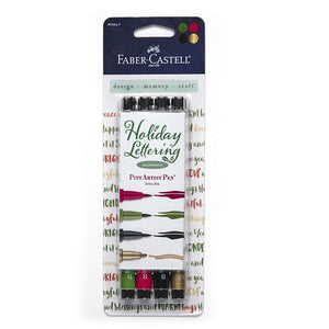 PITT Artist Pen Holiday Lettering Set