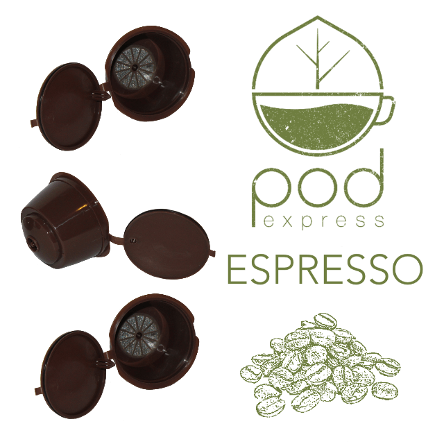 Refillable Dulce Gusto pods and Coffee Synergy
