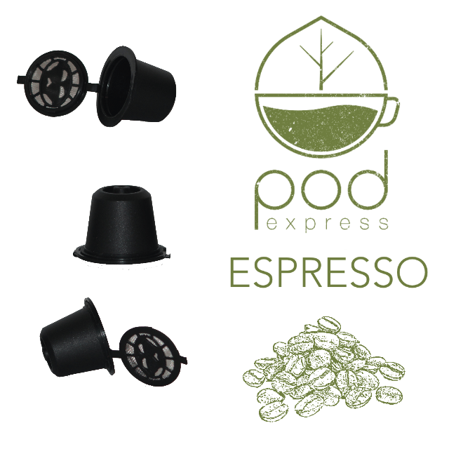 Refillable Nespresso pods and Coffee Synergy