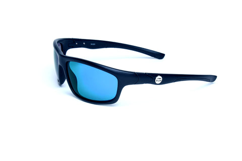Crawler | 74151 | TruRevo Blue Polarized Lens | Matte Black Frame