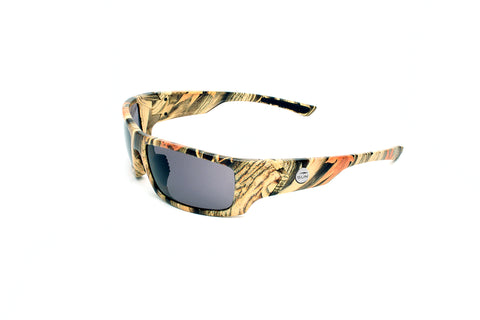 Waverider | 74102 | TruRevo Smoke Polarized Lens | Camo Wrap Frame