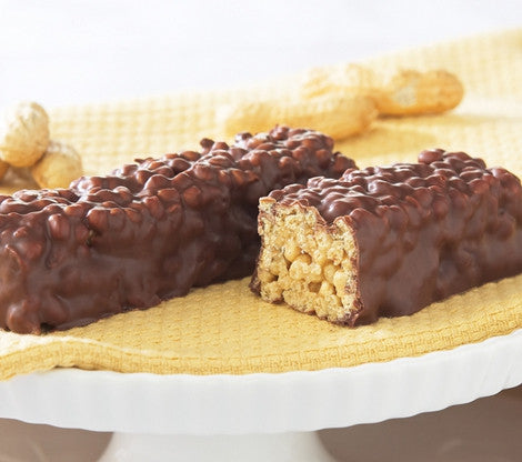 Crispy Chocolate Peanut Dream Bar