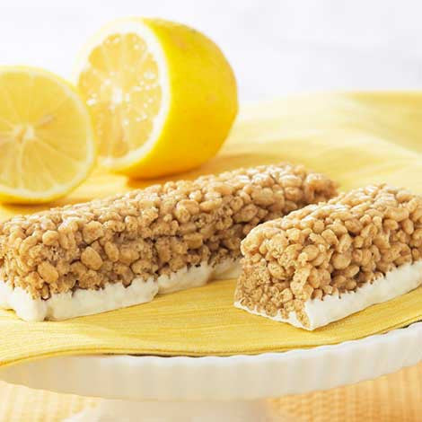 Crispy Lemon Meringue Bar
