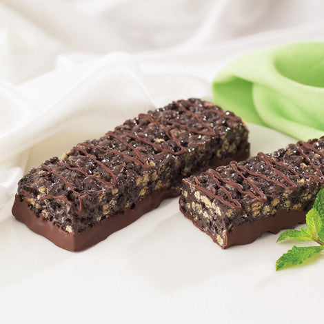 Crispy Chocolate Mint Bar