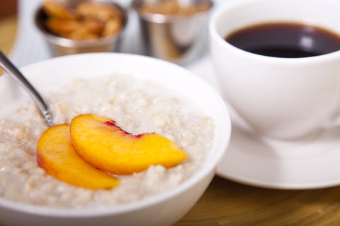 Peaches & Cream Oatmeal