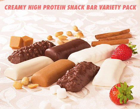 Variety - Creamy High Protein Snack Bars
