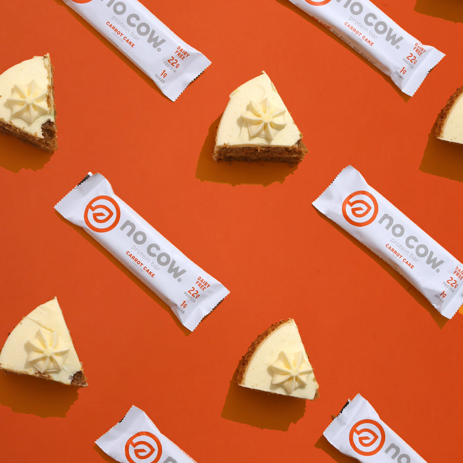 Image of No Cow Carrot Cake Protein Bar