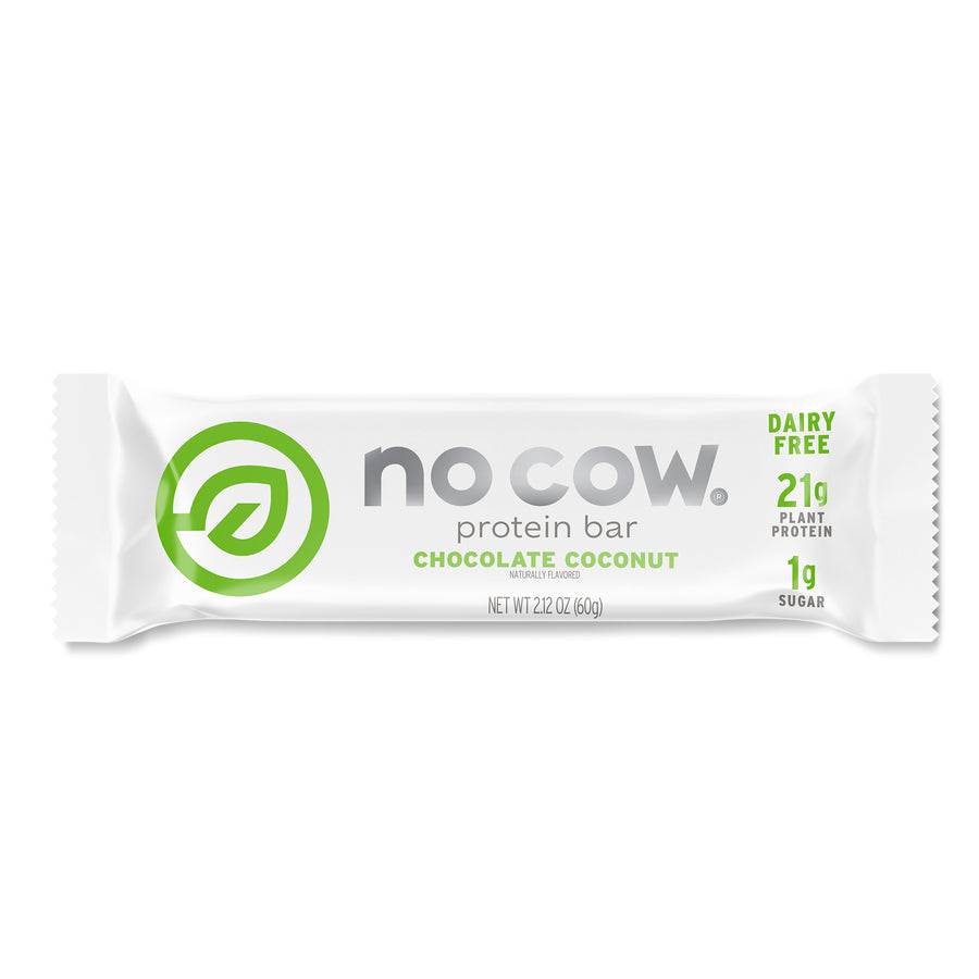 No Cow Chocolate Coconut Protein Bar