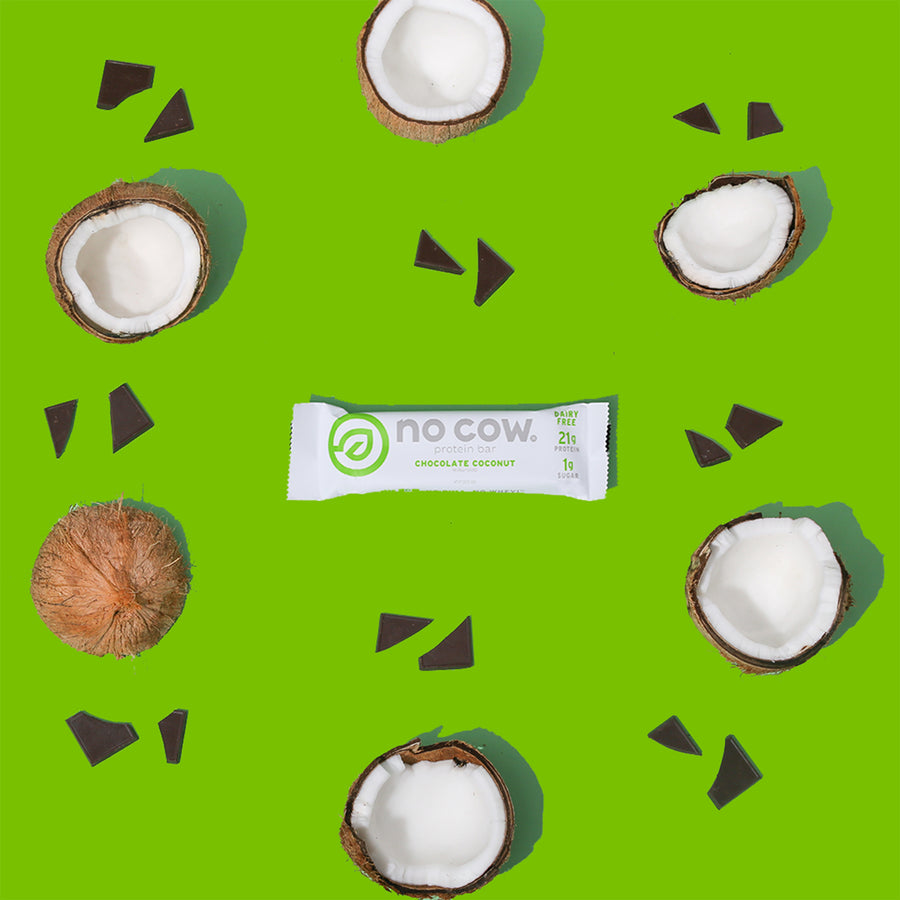 Image of No Cow Chocolate Coconut Protein Bar