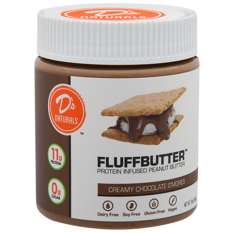 Creamy Chocolate S'mores Fluffbutter
