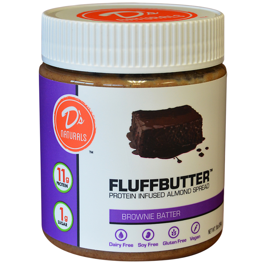 Brownie Batter Almond Fluffbutter