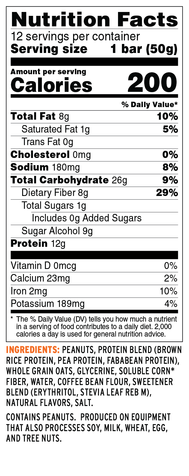 Protein Bar 8ct Variety Pack