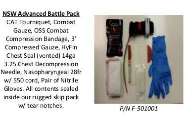 U S  Armor OSS NSW Advanced Battle Packs and Pouches