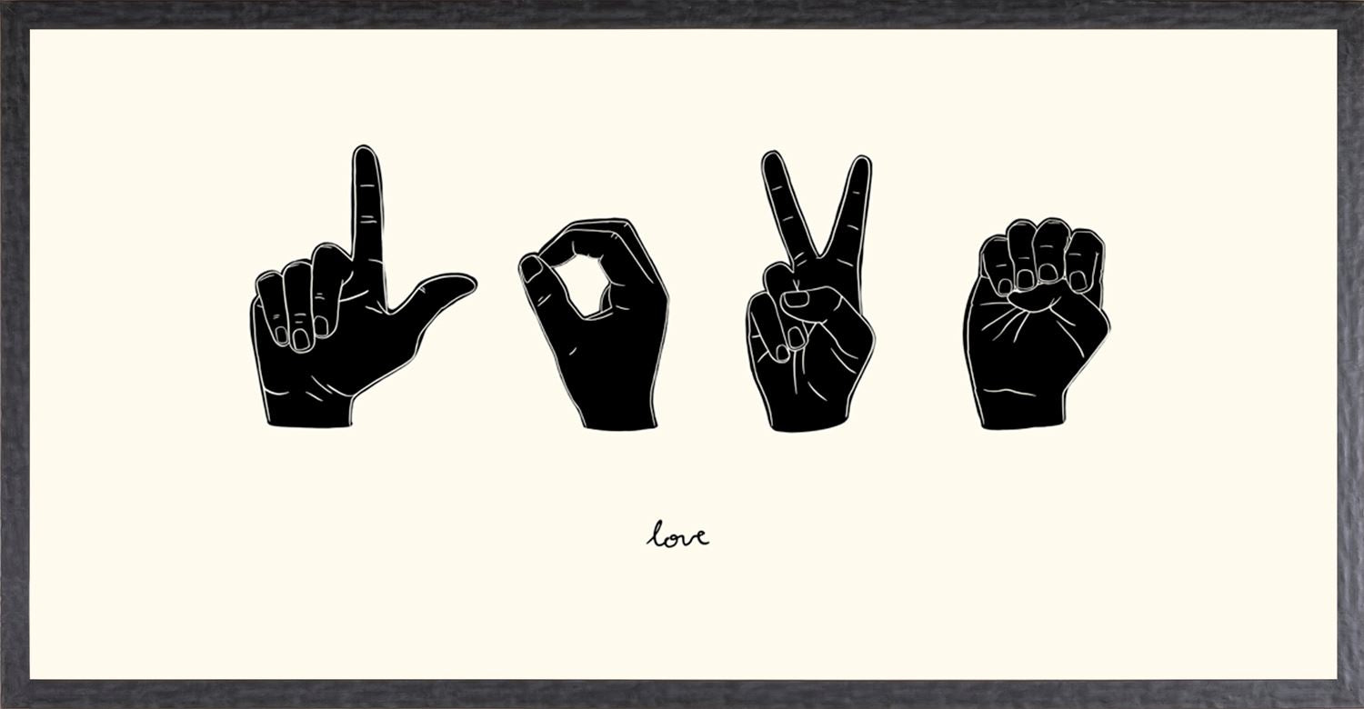 SIGN LANGUAGE IV - LOVE
