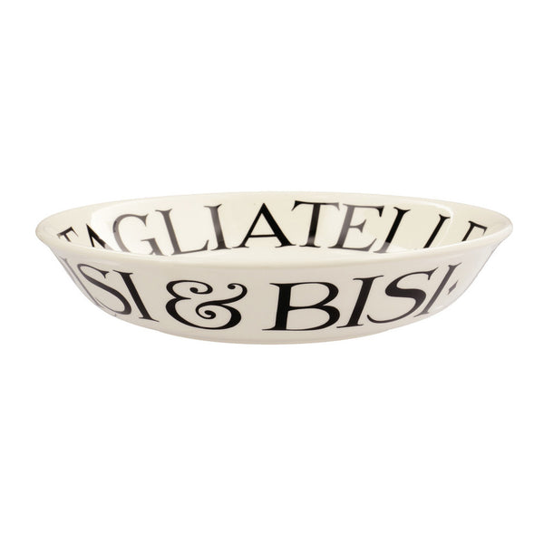 BLT010040 - EMMA BRIDGEWATER BLACK TOAST SMALL PASTA BOWL