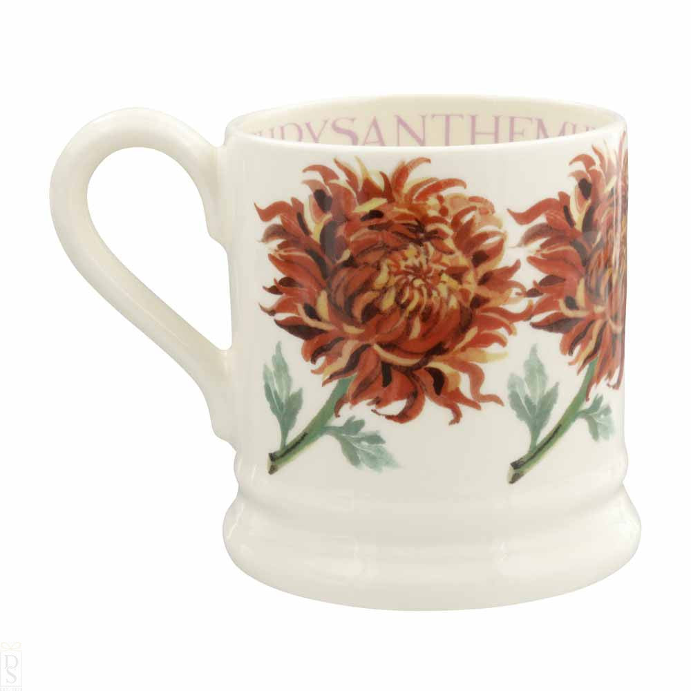 Flowers Chrysanthemum 1/2 Pint Mug