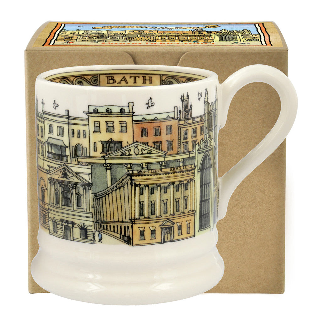 Bath 1/2 Pint Mug Boxed