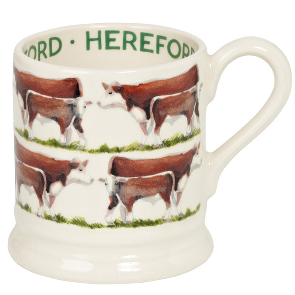 FAR010002 - EMMA BRIDGEWATER HEREFORD 1/2 PINT MUG