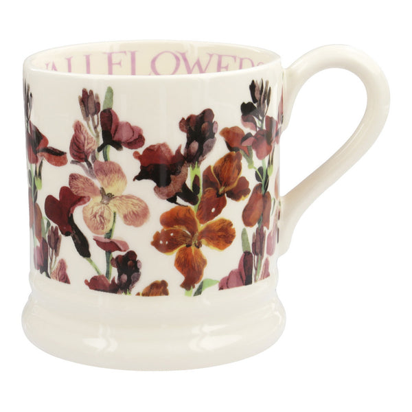 FLW240002 - EMMA BRIDGEWATER RED WALLFLOWERS 1/2 PINT MUG