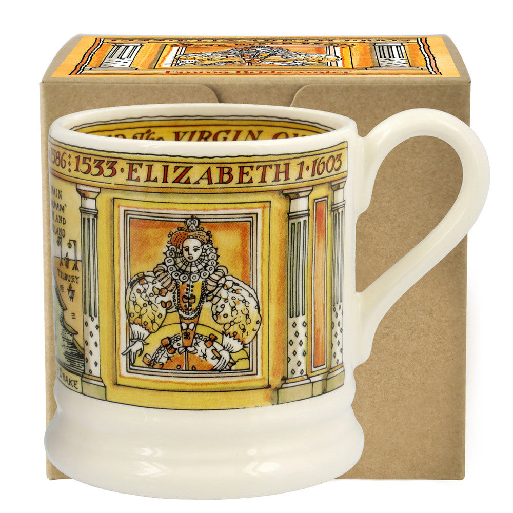 Elizabeth 1/2 Pint Mug Boxed