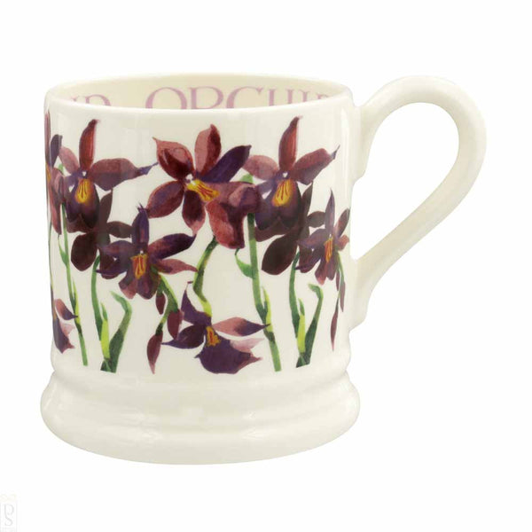 Flowers Orchid 1/2 Pint Mug