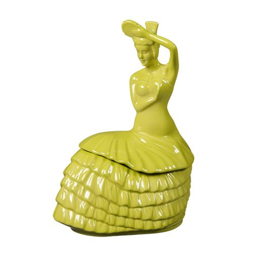 Fiestaware Dancing Lady Cookie Jar