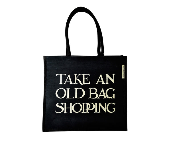 OLD BAG SHOPPING- JUTE BAG