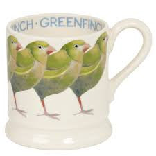 BIR340002 - EMMA BRIDGEWATER GREENFINCH 1/2 PINT MUG